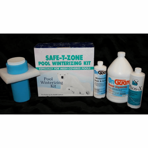 Safe-T-Zone Pool Winterizing Kit for Mesh Pool Covers