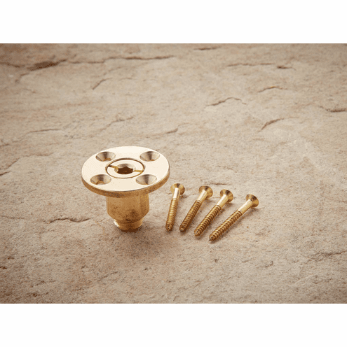 Screw Type Brass Wood Deck Anchor For Safety Pool Covers