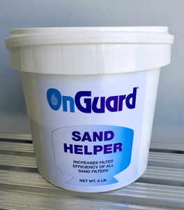 Sand Filter Helper - Improves water clarity