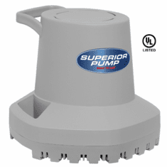 Superior Automatic Pool Cover Pump - 2100 gph