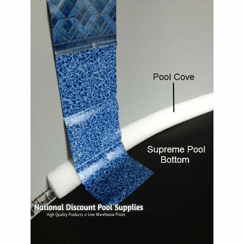 Supreme Hard Bottom for 12' x 24' Oval Above Ground Pools