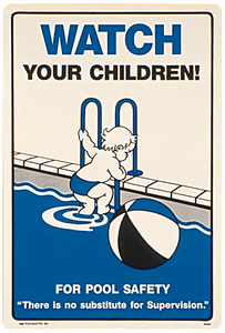 Commercial and Residential Pool Signs