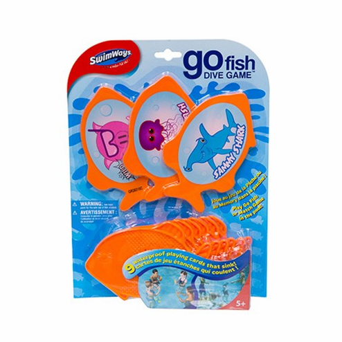 Swimways Go Fish Dive Game