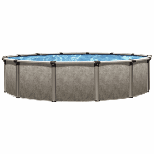"""Vogue Regency Above Ground Pool 54"""" Tall with Resin Top & Bottom Rails"""