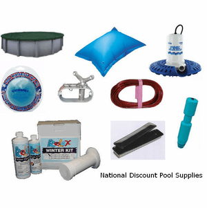 Winter Pool Covers & Winter Pool Closing Supplies