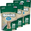 BONIES Natural Dental Health Multi-Pack MINI 3-PACK (60 Bones)
