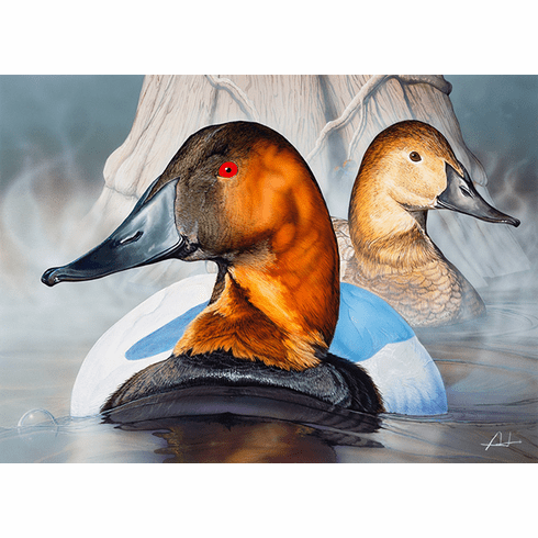 2018 N.C. Waterfowl<br>Conservation Adhesive Stamp