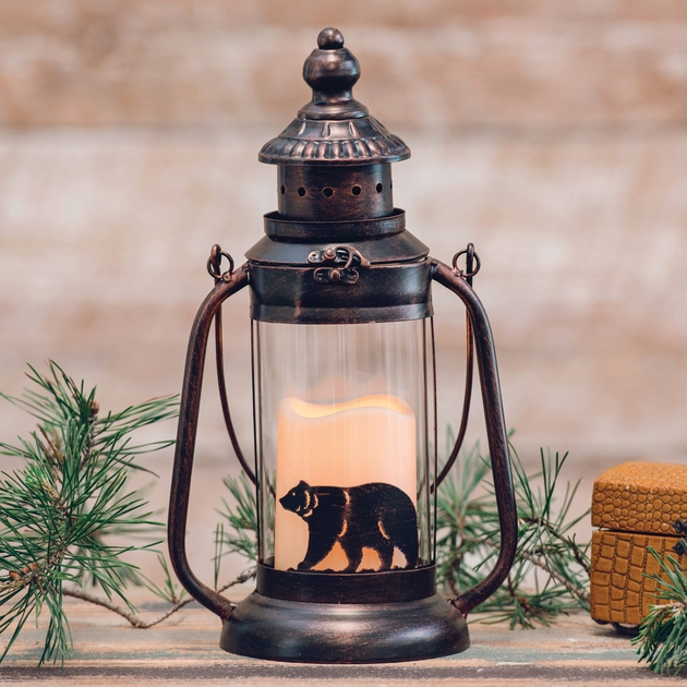 Bear Electric Candle Lantern