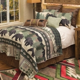Rustic Bedding Cabin Bedding Black Forest Decor