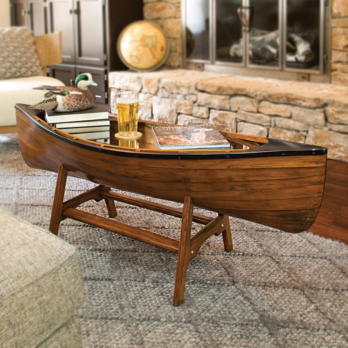 Canoe Lodge Coffee Table Backordered Until 10 1 2021 [ 1200 x 1200 Pixel ]