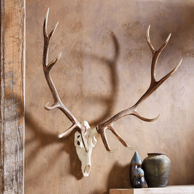 Elk Antler Wall Mount Large