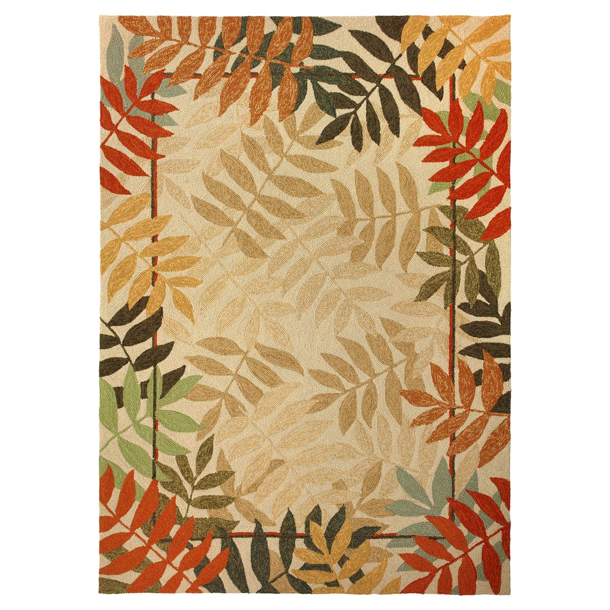 Fall Forest Indoor Outdoor Rug 3 X 5