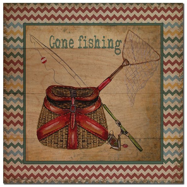 Gone Fishin' Wood Sign Delectable Gone Fishing Signs Decor