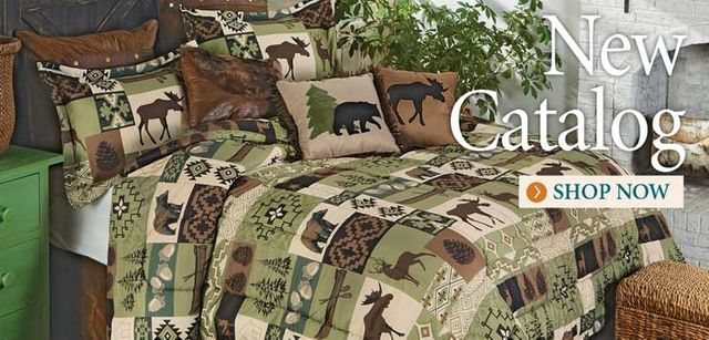 Cabin Decor and Cabin Bedding | Black Forest Décor