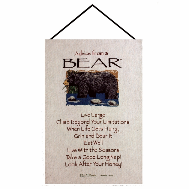 Wall Hanging Lesson Plan: Lessons From A Bear Wall Tapestry