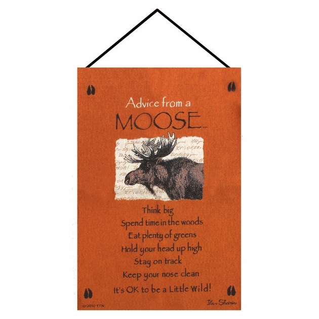 Wall Hanging Lesson Plan: Lessons From A Moose Wall Tapestry