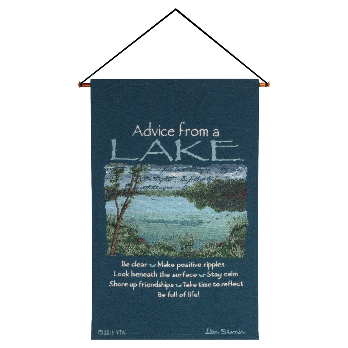 Wall Hanging Lesson Plan: Lessons From The Lake Wall Tapestry
