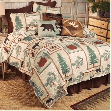 Cabin Decor And Cabin Bedding Black Forest Decor