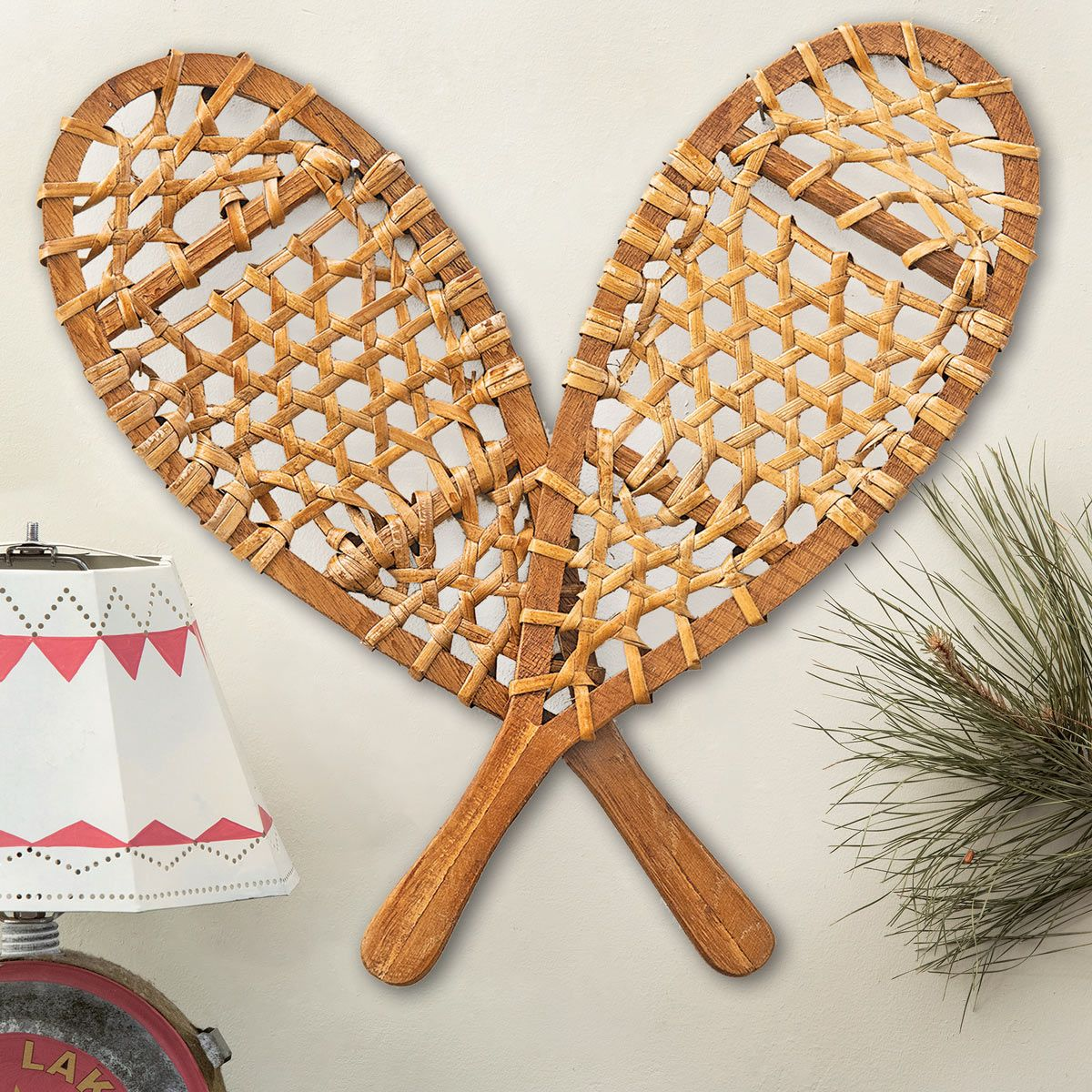 Small Snowshoes Wall Hanging