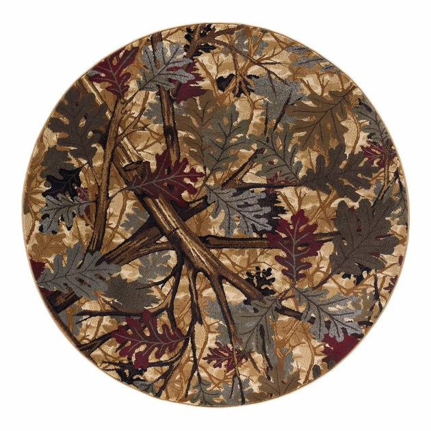 Under The Oaks Rug 5 Ft Round