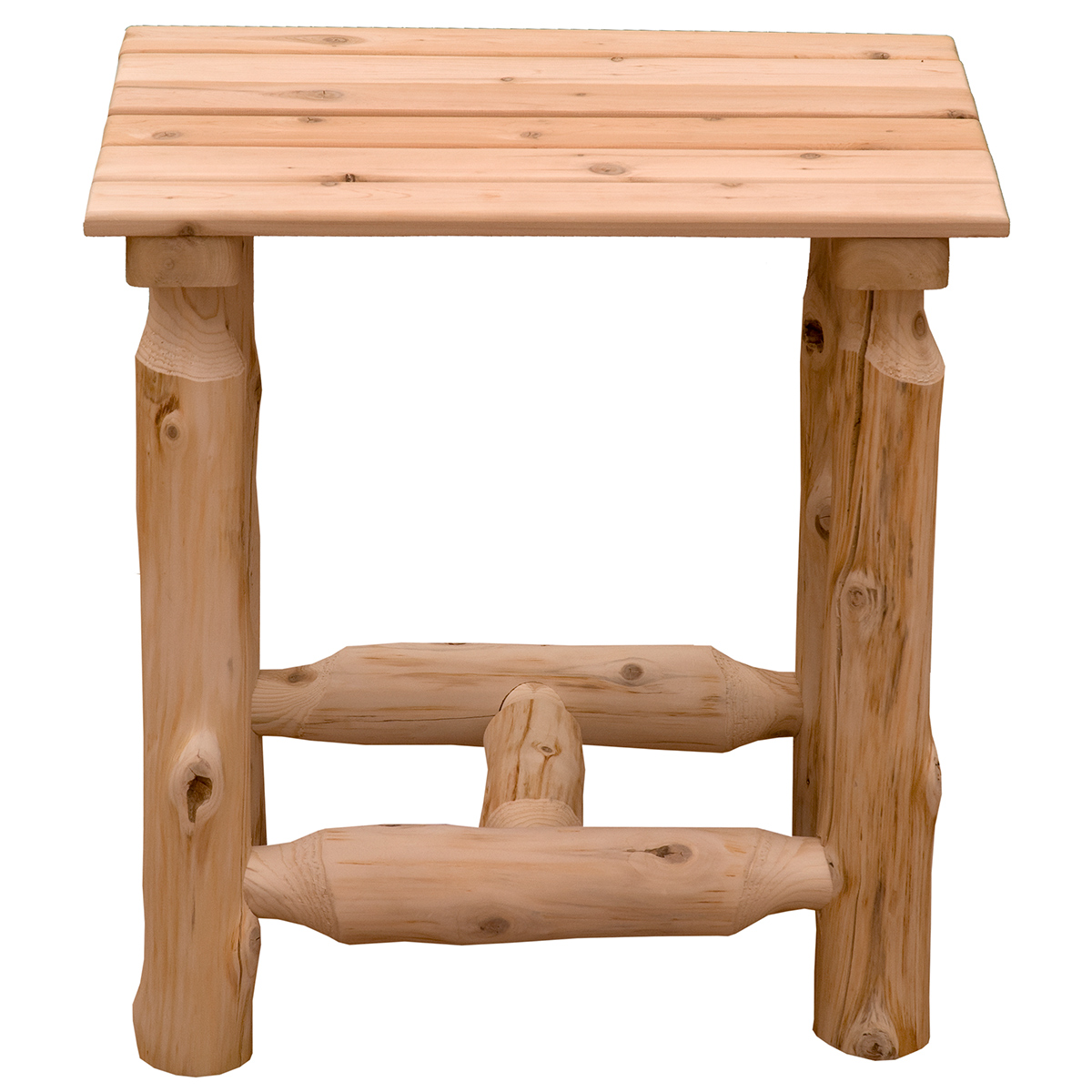 Unfinished Voyageur Outdoor End Table Zoom