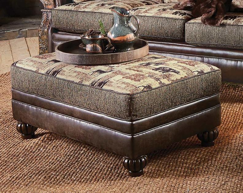 Yosemite Valley Large Storage Ottoman