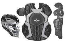 All-Star S7 Axis Black Adult Catcher's Kit CKCCPRO1XBK