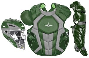 All-Star S7 Axis Dark Green Adult Catcher's Kit CKCCPRO1XDG