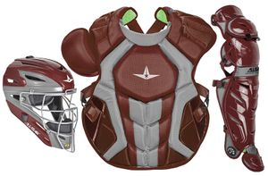 All-Star S7 Axis Maroon Adult Catcher's Kit CKCCPRO1XMA