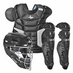 All-Star Adult Players Black Catching Kit CKPRO3