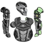 All-Star Youth S7 Axis Pro Black Catcher's Set CK912S7X