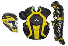 All-Star S7 Axis Two-Tone Black/Gold Adult Catching Kit CKCCPRO1XBKGO
