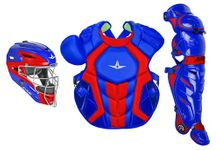 All-Star S7 Axis Two-Tone Royal/Scarlet Adult Catching Kit CKCCPRO1XROSC