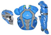 All-Star S7 Axis Two-Tone Sky Blue/Graphite Adult Catching Kit CKCCPRO1XSBGPH