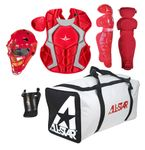 All-Star Scarlet Youth Player's Series Catcher's Kit CKCC79PSSC