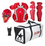 All-Star Scarlet Youth Player's Series Catcher's Kit CKCC912PSSC