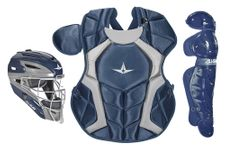 All-Star Youth Navy Axis Pro System 7 Series Catcher's Kit CKCC912S7XNA