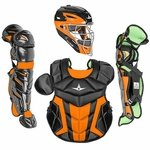 All-Star Youth S7 Axis Pro Black-Orange Catcher's Gear CK912S7X
