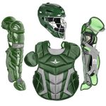 All-Star Youth S7 Axis Pro Dark Green Catcher's Gear CK912S7XDG