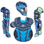 All-Star Youth S7 Axis Pro Navy/Sky Blue Catcher's Gear CK912S7XNYSB
