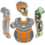 All-Star Youth S7 Axis Pro Orange Catcher's Set CK912S7X