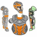 All-Star Youth S7 Axis Pro Orange Catcher's Gear CK912S7X