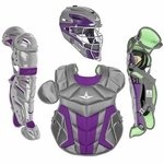 All-Star Youth S7 Axis Pro Purple Catcher's Gear CK912S7X