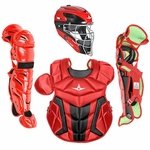 All-Star Youth S7 Axis Pro Scarlet-Black Catcher's Gear CK912S7XSCBK