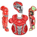 All-Star Youth S7 Axis Pro Scarlet Catcher's Set CK912S7X