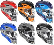 All-Star Youth S7 Graphite Two-Tone Catcher Helmets