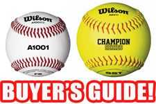 Baseball and Softball Buyer's Guide