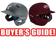 Baseball Batting Helmet Buyer's Guide
