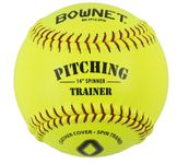 "Bownet 14"" Softball Spinner Trainer Optic Yellow BN-FP14"
