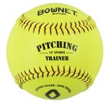 "Bownet 16"" Softball Spinner Trainer Optic Yellow BN-FP16"
